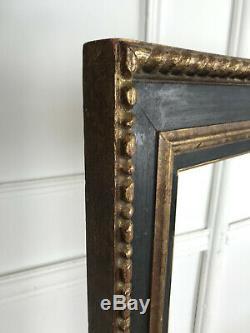 Cadre Style Napoleon III En Bois Peint Et Doré Pour Peinture 100 CM X 81 CM