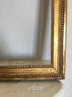 Cadre à clés Bois stucs dorés à la feuille EPOQUE LOUIS XVI 18TH XVIIIe FRAME