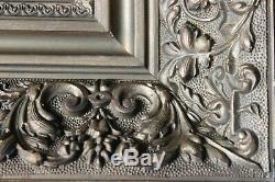 Cadre ancien 26cm x 24cm Bois sculpté et doré