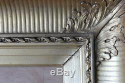 Cadre ancien 53 x 43cm Bois sculpté et doré
