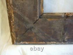 Cadre ancien à tableau XIXème siècle bois doré chassis à clés bon état