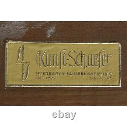 Cadre ancien avec de beaux coins décoratifs en bois décoré Feuillure 80,5x60,5