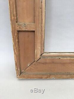 Cadre ancien, en bois doré