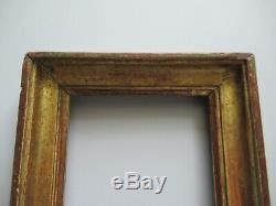 Cadre ancien en bois doré époque XVIII ème