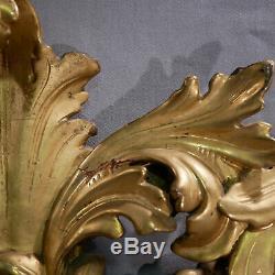 Cadre baroque BOIS SCULPTE doré Wooden gilted frame Cornice legno dorato Rahmen