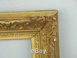 Cadre doré à la feuille 96 cm x 126 cm