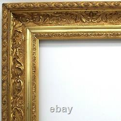 Cadre doré du 19ème siècle