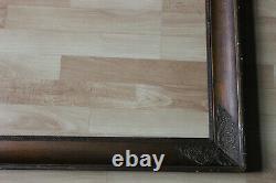 Cadre empire ancien 64cm x 53cm XIXème Bois Stuc sculpté et doré n°II