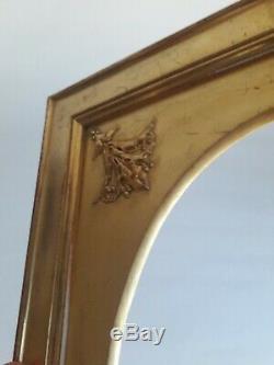 Cadre en bois doré XIXe