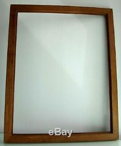 Cadre en bois pitchpin 70cm x 56cm Antique frame wooden XIX