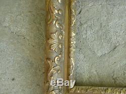 Cadre en bois sculptè et doré Début XVIIIème
