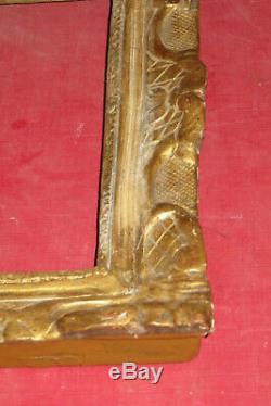 Cadre époque Louis XIV, 17ème, En Bois Doré