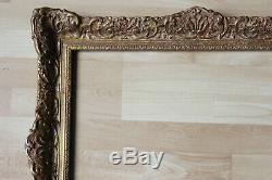 Cadre style ancien 55cm x 42cm Bois sculpté et doré