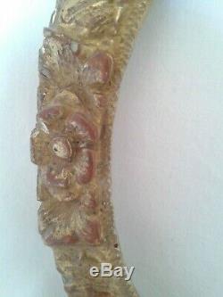 EXCEPTIONNEL CADRE en bois sculpté et doré, LOUIS XV, 18ème