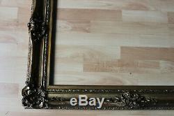 Grand cadre ancien 55cm x 75cm Bois sculpté et doré