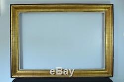 Grand cadre ancien Tableau Salon bois doré Mouluré format 150 cm x 100 cm Frame