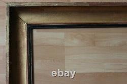 Grand cadre empire ancien 73cm x 59cm XIXème Bois Stuc doré