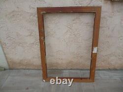 Grand cadre stuc doré bois H 1.09 CM / L 78 CM EPAISEUR/ 7 CM