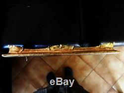 IMPORTANT CADRE DORE FEUILLE d'OR du XIXe STYLE LOUIS XV 59x46 cm TRES BEL ETAT