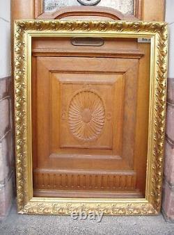 Important cadre doré début XXe siècle feuillure 100,8 x 72,8 cm Format 40 P