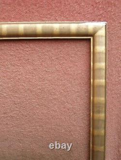 Important cadre doré début XXe siècle format 25 F environ