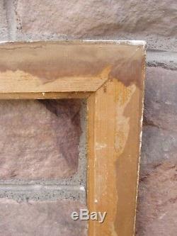 Important cadre doré du début du XXe siècle feuillure 96 x 71,8 cm
