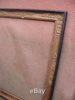 Important et rare cadre de style Empire Empire feuillure 72 x 57 cm
