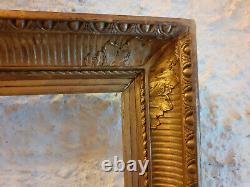 Magnifique CADRE à PALMETTES et CANNELURES, époque RESTAURATION, début du 19ème