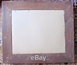 Miroir dans cadre en bois doré XIXème