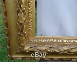 N° 473 Grand CADRE Epoque XIXème bois et stuc doré pour chassis 102 x 83 cm