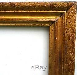 N° 494 Cadre Bois doré Louis XIV époque XVIIème pour chassis 87 x 69 cm