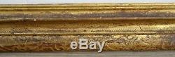 N° 495 Cadre Bois doré Louis XiV époque XVIIème pour chassis 87 x 69 cm