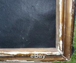 N° 636 GRAND CADRE XVIIIème bois doré pour chassis 110.5 x 86 cm