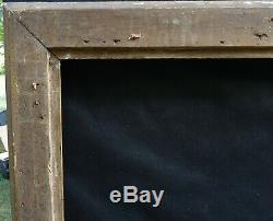 N° 670 CADRE Epoque Empire Restauration bois stuc doré pour chassis 74,3 x 60,2