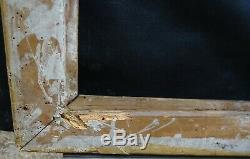 N° 687 CADRE Restauration Bois doré XIXème pour chassis 74 x 60.5 cm