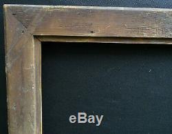 N° 698 CADRE Epoque Empire en bois et stuc doré pour chassis 66.2 x 55 cm