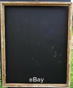 N° 719 CADRE Restauration début XIXème en bois doré pour chassis 89.5 x 72 cm