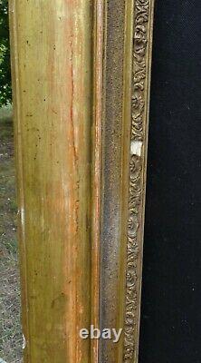 N°734 Grand CADRE Epoque XIXème bois doré à la feuille pour chassis 79 x 64,4 cm