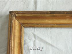 Rarissime CADRE ITALIEN en bois doré et sculpté, LOUIS XVI, deuxième moitié 18è