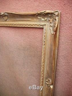 Remarquable cadre Montparnasse en bois doré