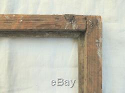 SUPERBE CADRE en bois sculpté et doré époque LOUIS XVI, deuxième moitié du 18ème
