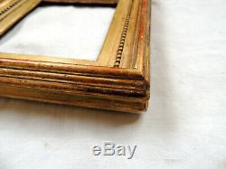 Sublime CADRE en bois mouluré et doré, époque LOUIS XVI ou DIRECTOIRE, fin 18ème