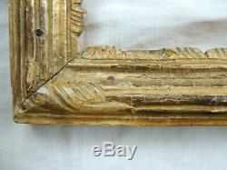 Sublime CADRE en bois sculpté et doré, modèle Bérain, époque LOUIS XIV, fin 17è