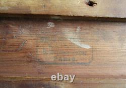 Superbe ancien cadre XIXe doré à la feuille dimensions de feuillure 37 x 29 cm