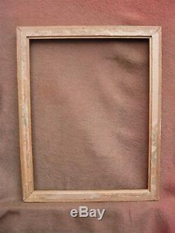 Superbe cadre doré de style Louis-Philippe feuillure 70 x 54 cm