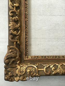 Superbe cadre doré style Louis XIV format 15F pour tableau peinture 65x54cm