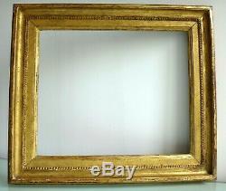 Superbe cadre en bois sculpté à clé 62cm x 54cm Antique frame wooden XVIII