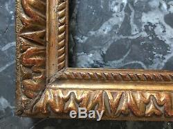 Superbe petit cadre clés bois sculpté doré Epoque LOUIS XIII 17TH XVIIe Dessin