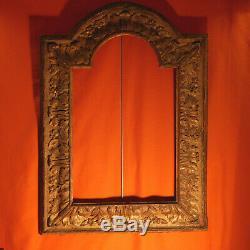 VENISE Gd Cadre bois doré Christ Wooden frame Cornice veneziana Rahmen Venezia