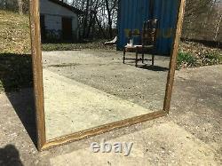 Vieux Miroir avec cadre sculpté pas cassé et grand 115 cm de haut
